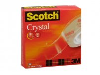 Kontorstejp SCOTCH Crystal 33mx 19mm